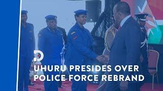 President Uhuru Kenyatta unveils new Police uniform