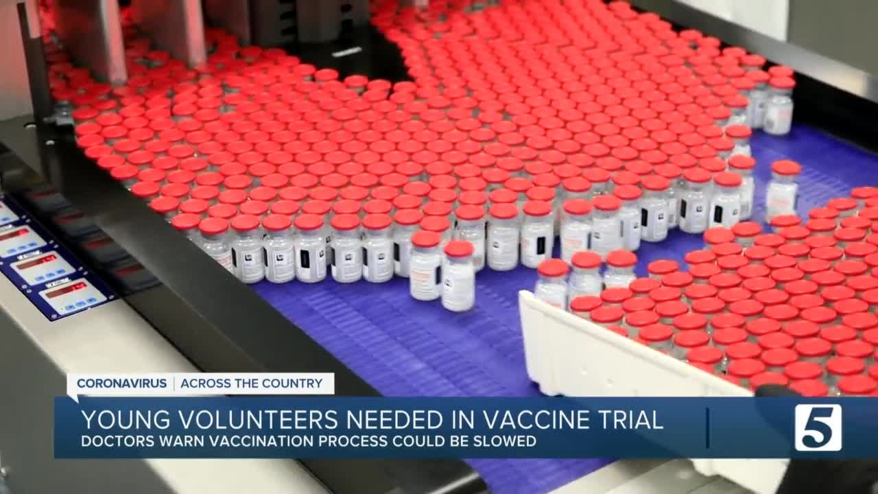 Moderna needs more kids to participate in vaccine trial - NewsChannel 5
