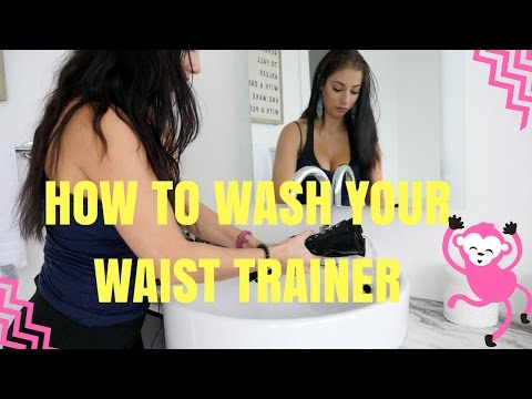 How To Wash Your Waist Trainer!