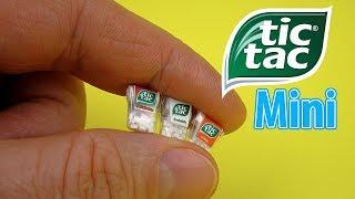 DIY Miniature Tic Tac Mints | DollHouse | No Polymer Clay!