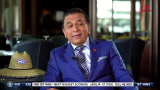 Sunil Gavaskar Interviewed On Australian Television