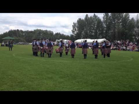 Alberta Caledonia Pipe Band Red Deer Games