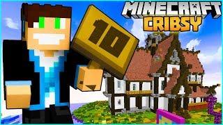 Minecraft Cribsy #03 - KOZACKIE DOMKI! | VERTEZ NA BRODACI.NET