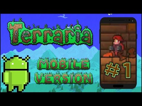 Terraria Mobile Version #1 - Witaj, MobileGetsuu!