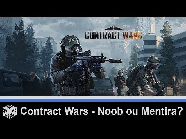 Contract Wars - Noob ou Mentira? Comentem !