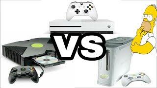 ¿CUAL ES LA PEOR CONSOLA DE MICROSOFT? XBOX VS XBOX 360 VS XBOX ONE
