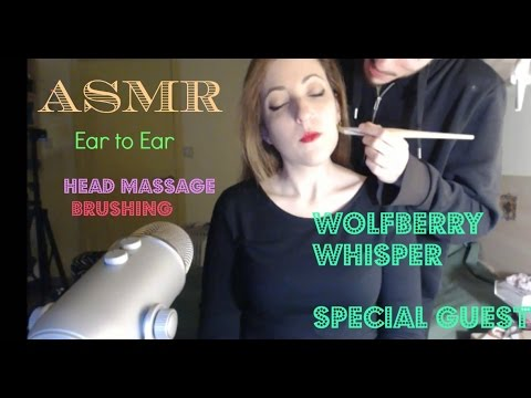 ▒•¡BANG!•▒~★Head massage & Face brushing+ Multi-layered 1080p (SPECIAL GUEST) ear to ear ASMR