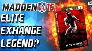 ELITE EXHANGE A SUPERBOWL LEGEND? - Madden 16 Ultimate Team