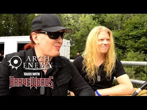 ARCH ENEMY's Michael Amott, Jeff Loomis Chat With BraveWords At Heavy Montréal