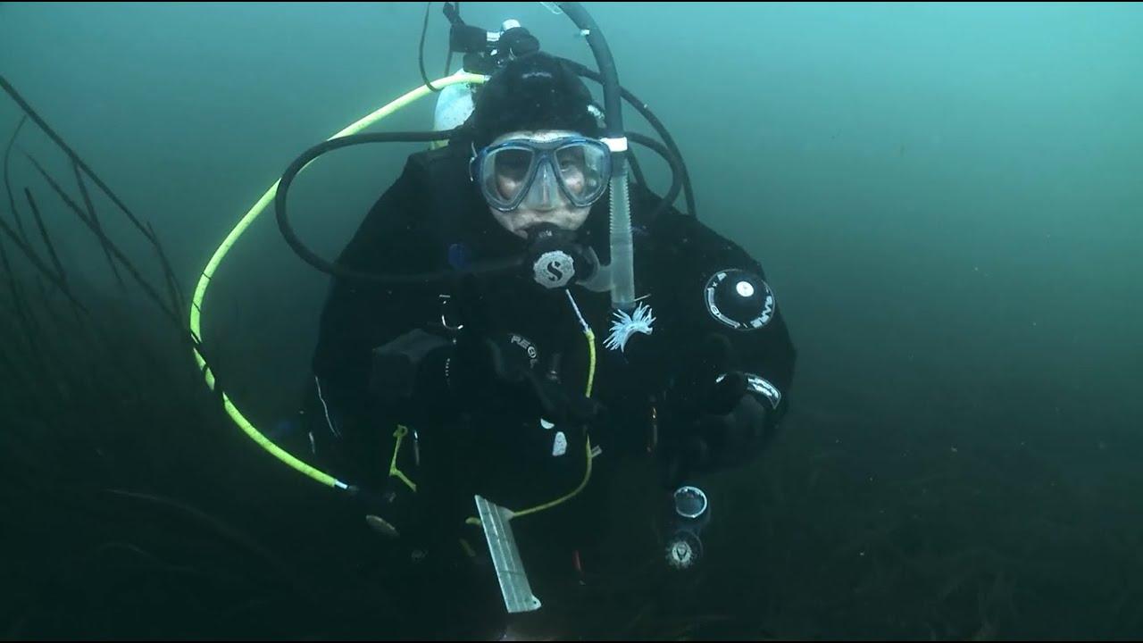 master diver and underwater sportsman
