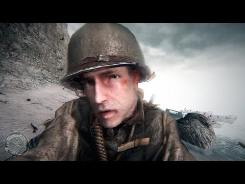 Call Of Duty 2 Gameplay Veteran (ENB Realism MOD)