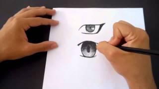 Como dibujar Ojos de anime - How to draw eyes of anime