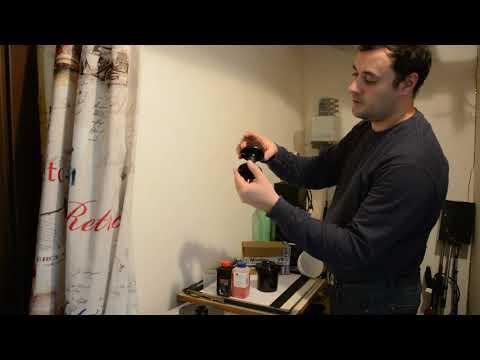 Обрудование и реактивы для проявки фотопленки