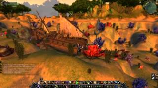 World of Warcraft: Cataclysm Gameplay Invisible Water - Full HD 1080p Ultra Settings GeForce GT 650M