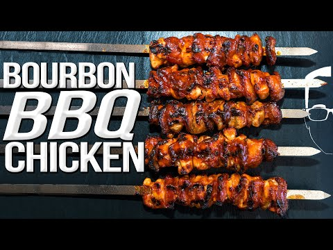 BBQ BOURBON CHICKEN | SAM THE COOKING GUY 4K