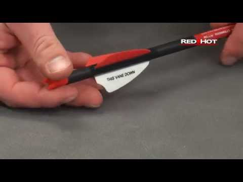 Red Hot High Performance Crossbow Arrows