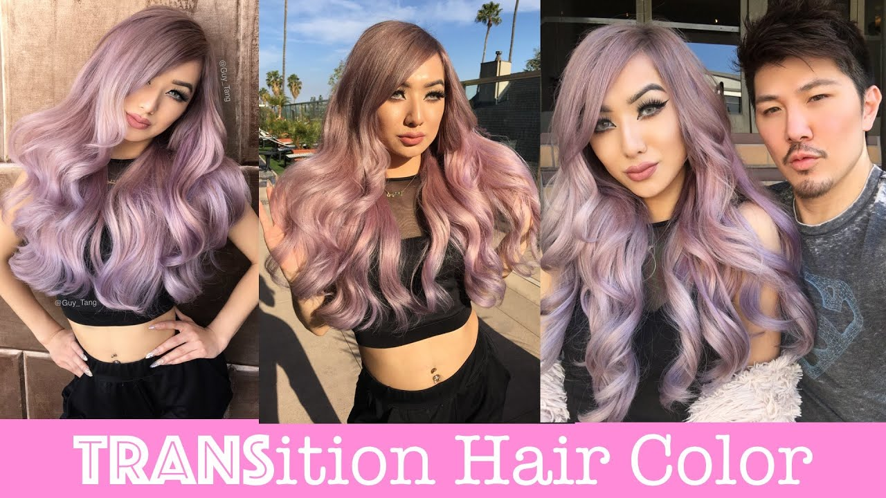 TRANSition Hair Color - YouTube