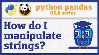 How do I use string methods in pandas?(pandas includes powerful string manipulation capabilities that you can easily apply to any Series of strings. In this video, I'll show you how to access string ..., 2016-05-12T12:01:46.000Z)