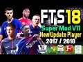 Cara Instal Fts 18 New Update Transfer 2017/2018 Supermod V11 | Tutorial Android Indonesia