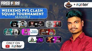 Miss U MS Dhoni 😭 Tamilnadu Best YOUTUBER CLASH SQUAD Tournament / PVS -Garena Free Fire