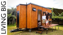 Compact Tiny House Designed To Travel New Zealand