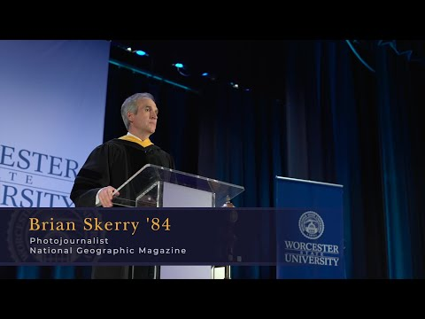 Brian Skerry:  2021 Commencement Address | Worcester State University