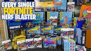 [UNBOXING] Every Single Nerf Fortnite Blaster! 2019