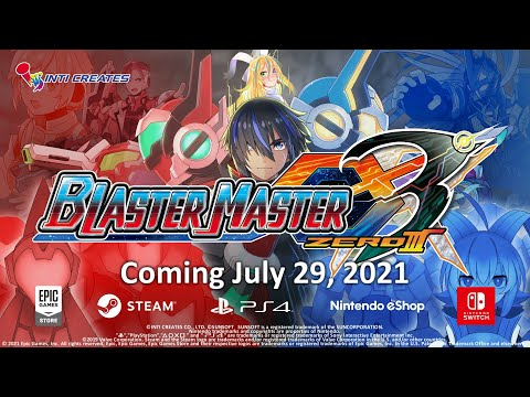 Blaster Master Zero 3 - Announcement Trailer