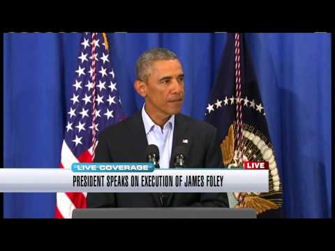 Obama speaks to the nation on beheading of American James Foley