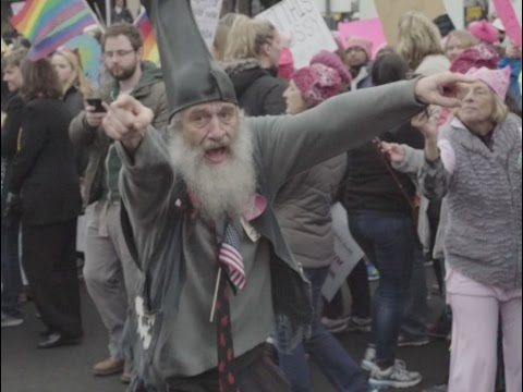 Vermin Supreme & Rob Potylo at the DC Women