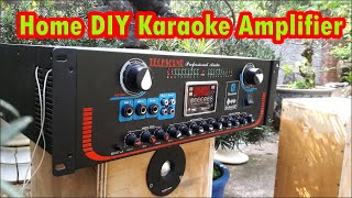 Home Karaoke Amplifier   Mucsic Tone   Micro Control   DSP Echo Reverb