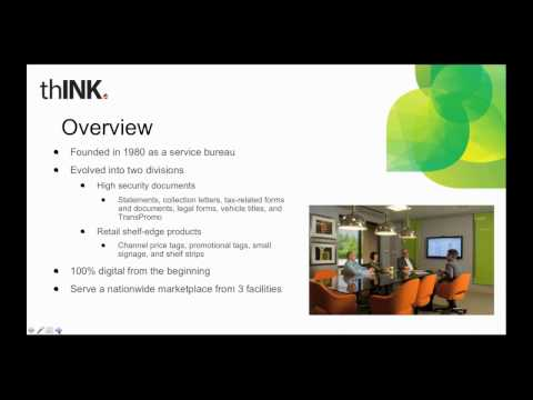 thINK Webinar   Where's the Money  Targeting Profitable Print