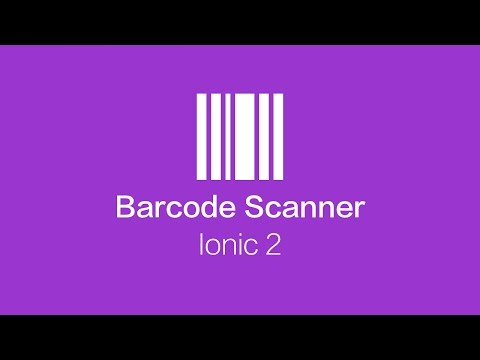 Create a Barcode/QR Code Scanner Application with Ionic 2