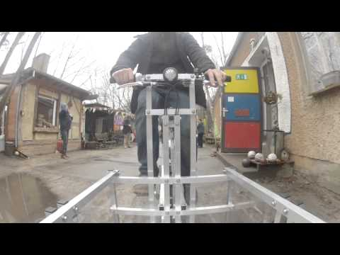 XYZ CARGO - Lastenrad Workshop im Projekthaus Potsdam 2014