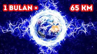 Bagaimana jika Bumi Mengembang 2,5 cm Setiap Detik selama 1 Tahun