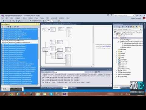 Merging Asp.Net Default Database With Your Custom Database
