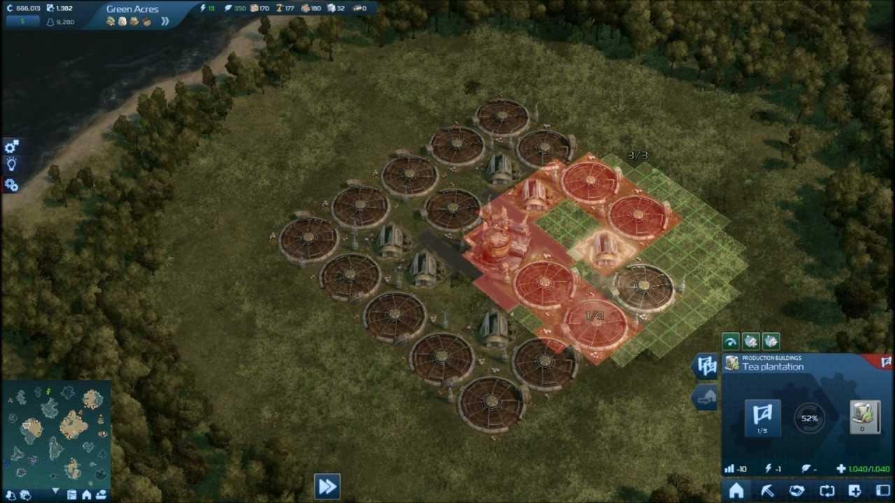 Anno 2070 tea farm layout youtube for Anno 2070 find architect