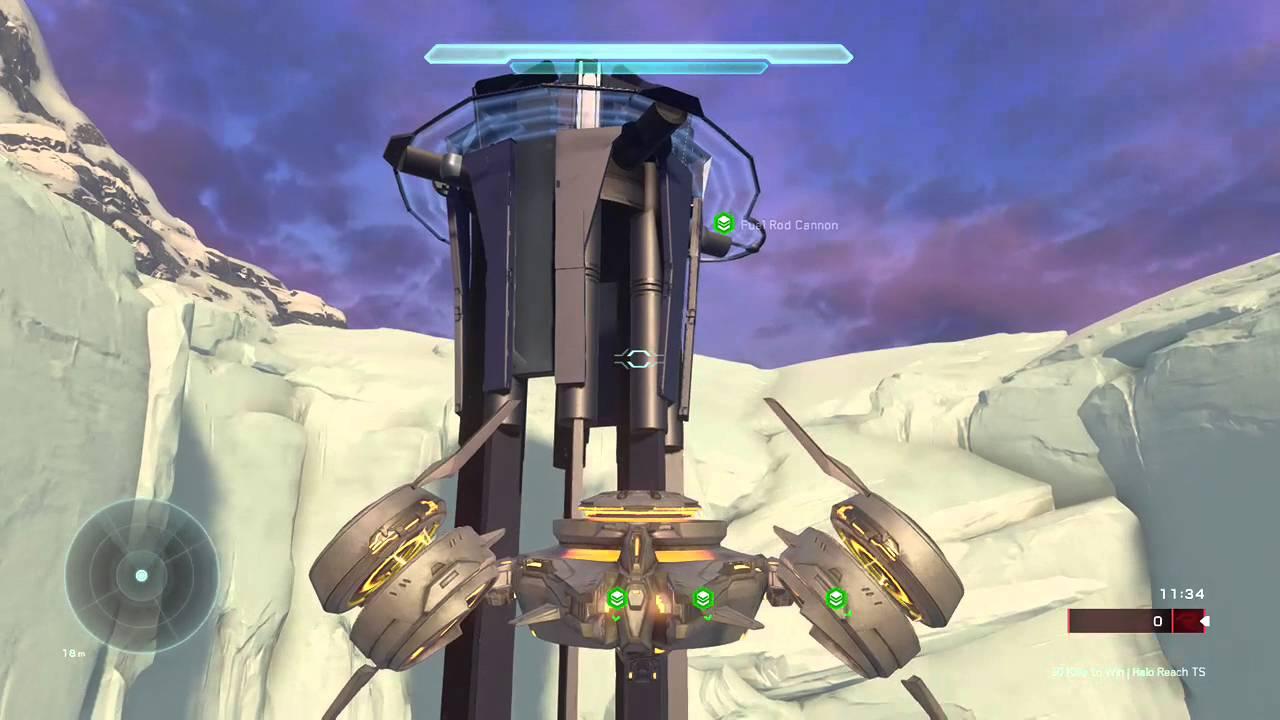 Halo reach spire map