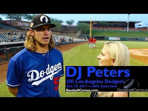 DJ Peters, OF, Los Angeles Dodgers — October 19, 2017 Interview