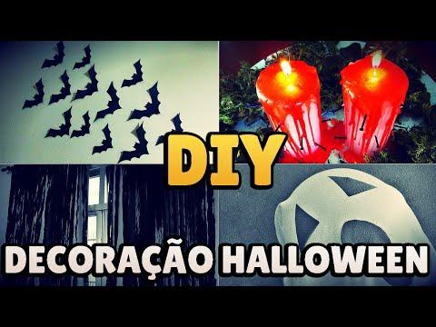 DIY: 5 EASY HALLOWEEN ROOM DECOR IDEAS! 👻 🎃 #diyhalloween