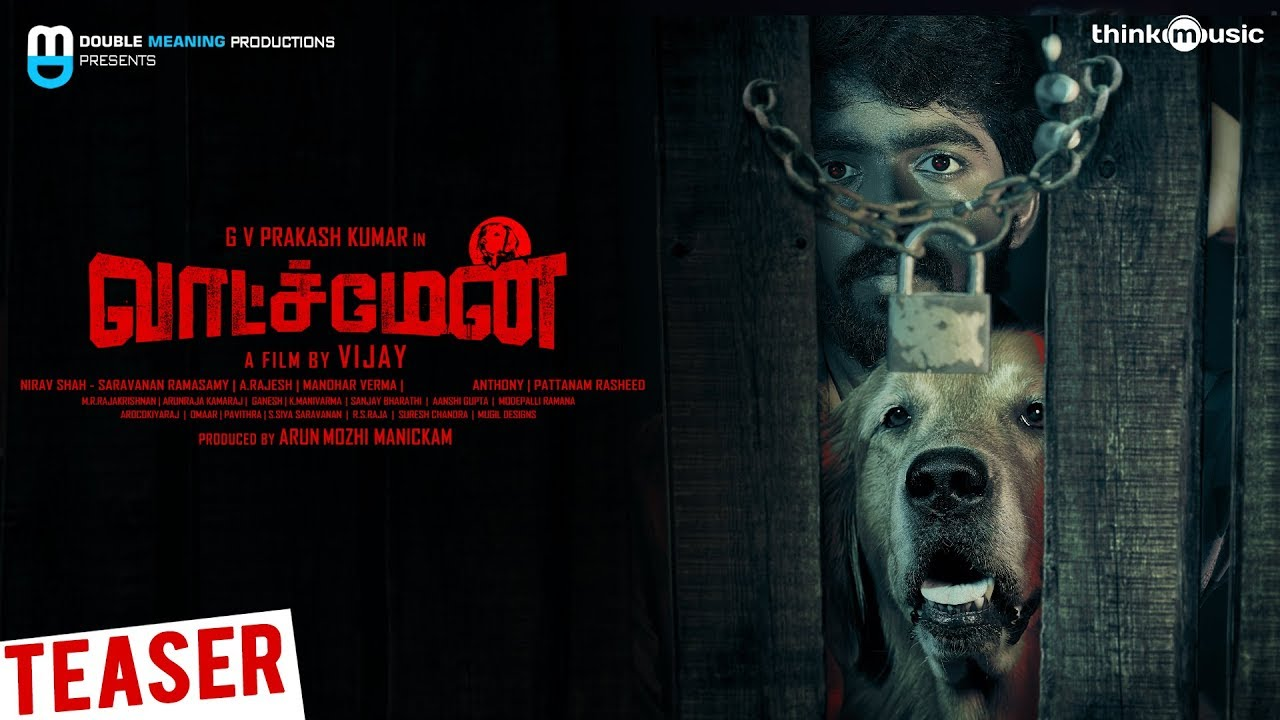 Watchman Tamil Movie Official Teaser | G V Prakash | Suman | Vijay | Nirav Shah
