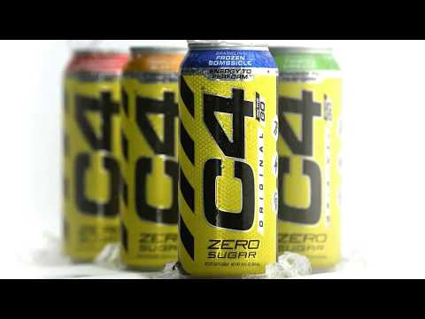 Cellucor C4 Carbonated Energy Drink Can