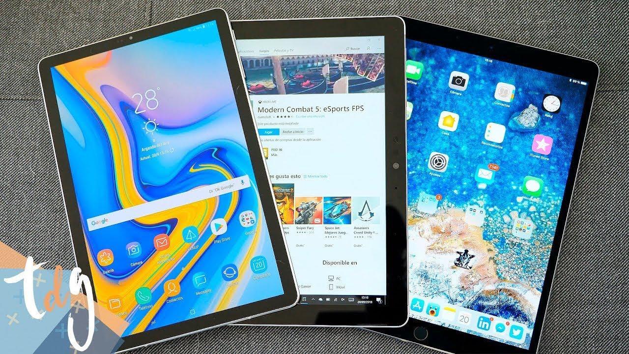 26e7d822544 MEJOR TABLET 2018 (iPad PRO VS Tab S4 VS Surface GO). Topes de Gama