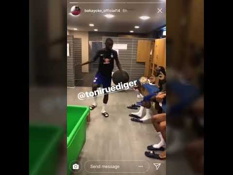 Chelsea players dancing to wizkid song ft Willian,kante