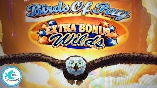 Birds of Pay Slot Machine - Extra Bonus Wilds - Hot Machine!!