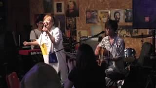 2018.7.20(Fri) @HANG ON CAFE 広沢タダシ Rails-Tereo 初田悦子.