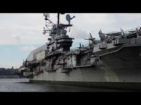 Complete Tour - Uss Intrepid - Sea Air & Space Museum - New York 4k