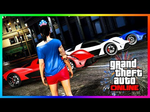 GTA ONLINE BUYING ALL NEW DLC CONTENT BEFORE IT'S GONE FOREVER!! - RARE CARS, FIREWORK SHOWS & MORE!