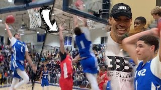 LaMelo Ball PUTTING ON A DUNK FEST & DROPS 30! Melo's BOUNCE GETTING CRAZY!