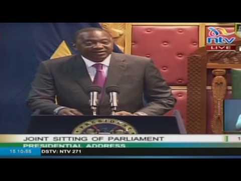 President Uhuru Kenyatta's State of the Nation Address 2017